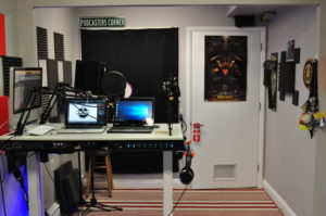 Room For 6 Podcasters and an Engineer